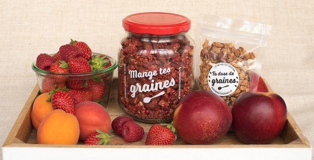 Panier graines et fruits