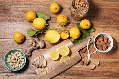 Mélange citron bergamote gingembre