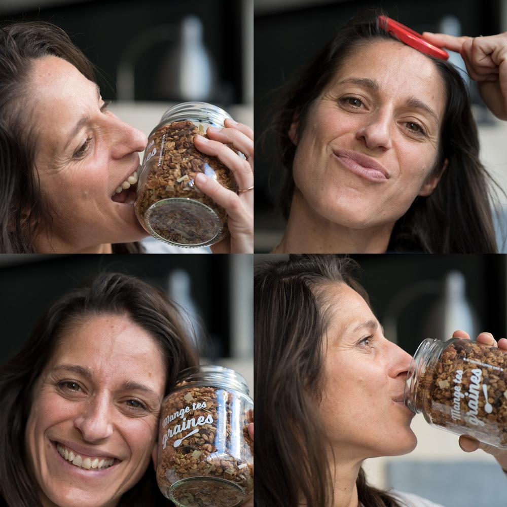 portrait julie lutringer créatrice mange tes graines