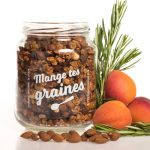 Bocal granola abricot huile d'olive