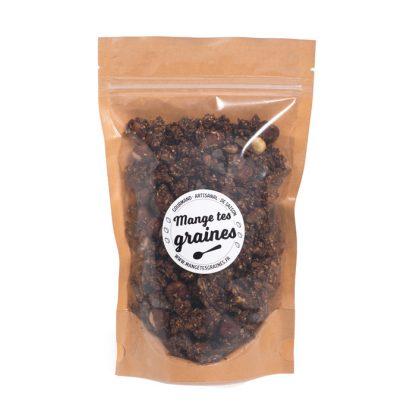 sachet de 185g de topping de graines chocolat tonka