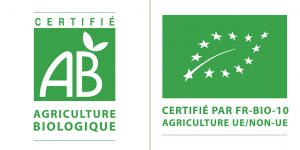 Certifié agriculture biologique - Certifié par FR-BIO-10 - Agriculture UE/NON-UE