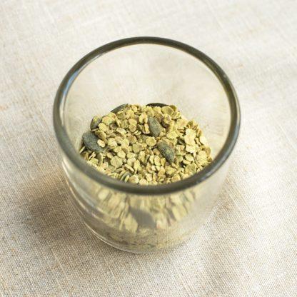 porridge mise au thé vert