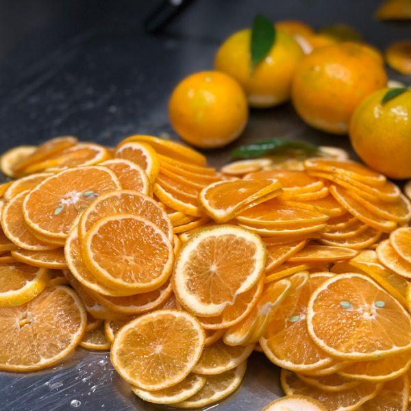 oranges coupées