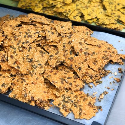 Crackers de graines