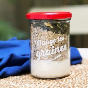 Préparation pour crackers de graines