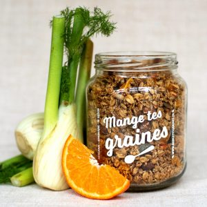 Topping de graines Fenouil Orange